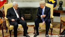 USA Mahmud Abbas & Donald Trump in Washington