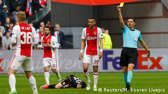 Fußball Europa-League Ajax Amsterdam vs. Olympique Lyon (Reuters/M. Kooren Livepic)