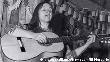 Violeta Parra, chilenische Sängerin