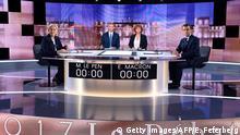 Frankreich Wahl TV-Debatte - Marine Le Pen & Emmanuel Macron
