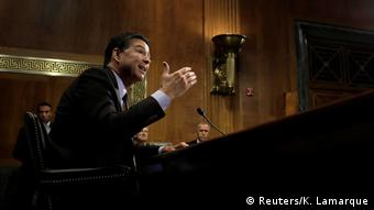 Washington Senat Aussage FBI Director James Comey (Reuters/K. Lamarque)