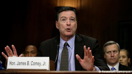 Washington Senat Aussage FBI Director James Comey (Reuters/K. Lamarque)