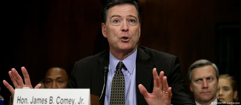 Comey foi demitido do cargo na semana passada pelo presidente dos EUA