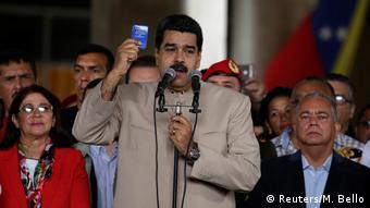 Venezuela Nicolas Maduro (Reuters/M. Bello)