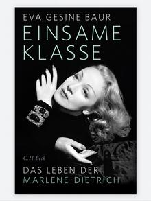 Cover of the new biography by Eva Gesine Baur