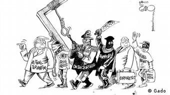 World Press Freedom Day Karikatur