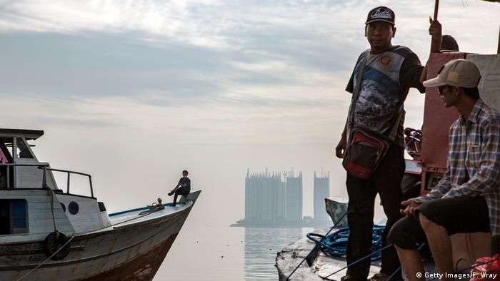 Indonesien Hochwasserschutz in Jakarta (Getty Images/E. Wray)