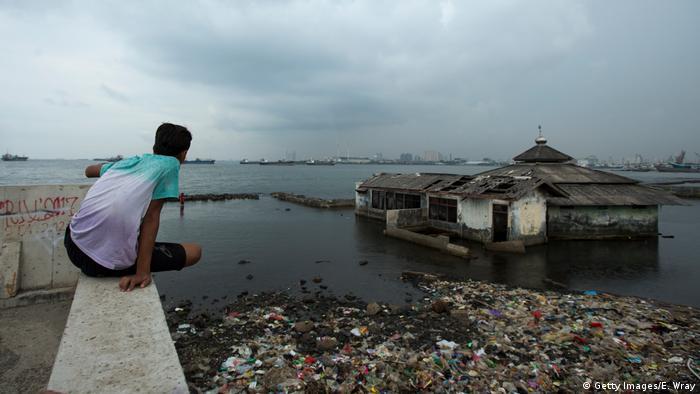 Indonesien Hochwasserschutz in Jakarta