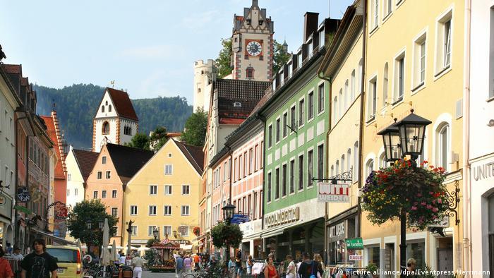 Centro histórico de Füssen