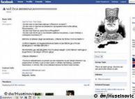 Página de Facebook en la que se homenajea al ultranacionalista serbio Ratko Mladic.