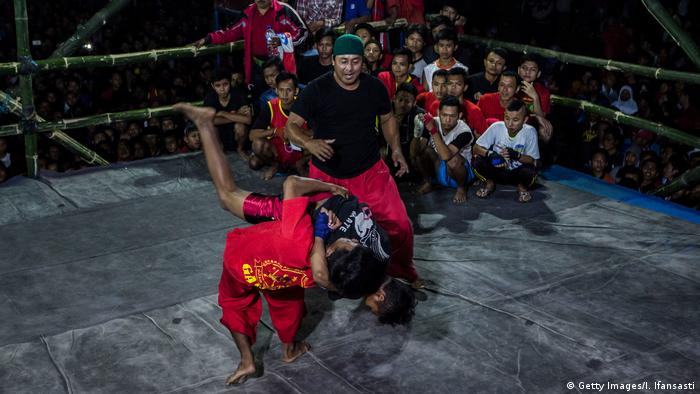 Indonesien Free Style Fighting in Java (Getty Images/I. Ifansasti)