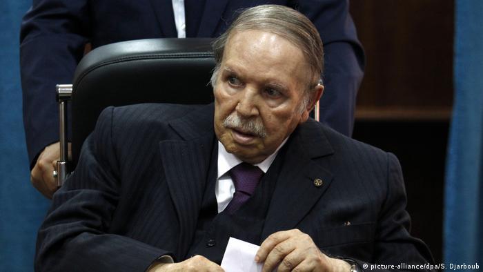 Wahlen in Algerien Präsident Abd al-Aziz Bouteflika (picture-alliance/dpa/S. Djarboub)