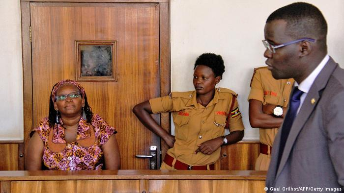 Uganda Prozess Stella Nyanzi