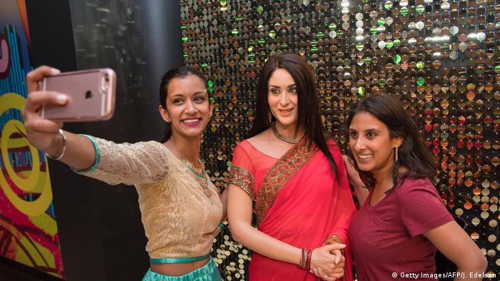 USA Kareena Kapoor im Madame Tussauds San Francisco (Getty Images/AFP/J. Edelson)