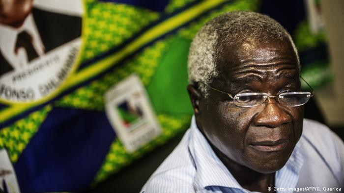Afonso Dhlakama, líder da RENAMO, maior partido da oposição em Moçambique