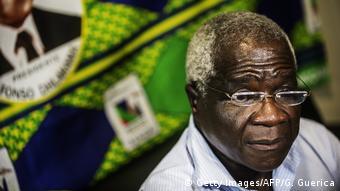 Mosambik Oppositionsführer Afonso Dhlakama