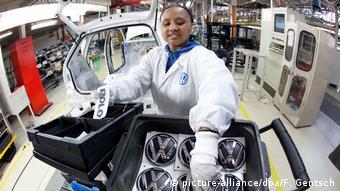 Südafrika Volkswagen in Uitenhage