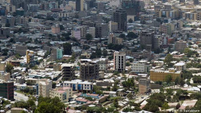 Äthiopien Stadansicht Mek' ele