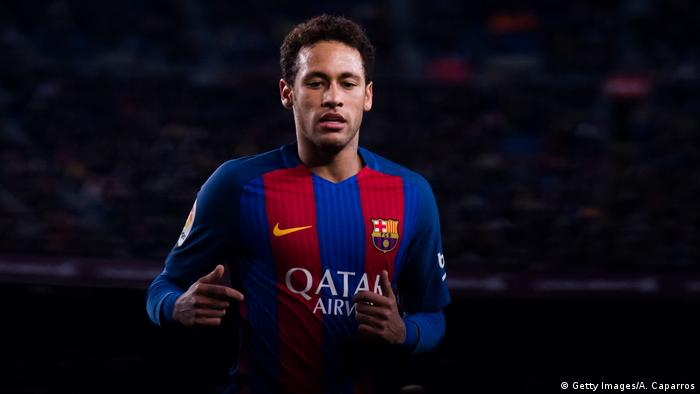 Neymar im Trikot des FC Barcelona. Foto: Getty Images