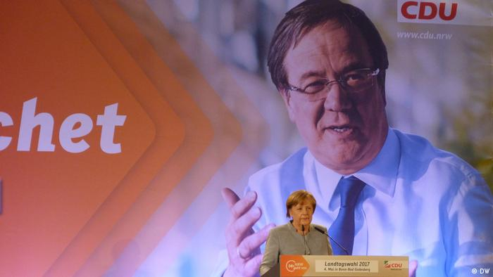 La CDU espera sacar provecho del efecto Merkel