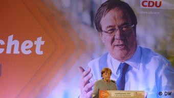 Η Α. Μέρκελ σε προεκλογική συγκέντρωση στη Βόννη