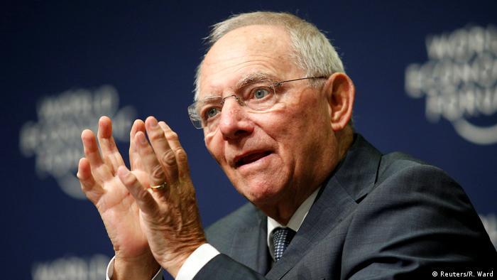Südafrika Weltwirtschaftsforum in Durban Wofgang Schäuble