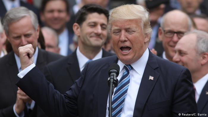 USA Wahl zur Aufhebung von Obamacare