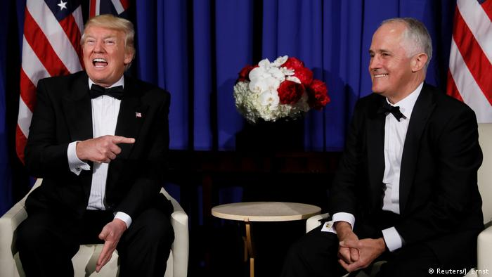 Donald Trump trifft Malcolm Turnbull Donald Trump trifft Malcolm Turnbull (Reuters/J. Ernst)