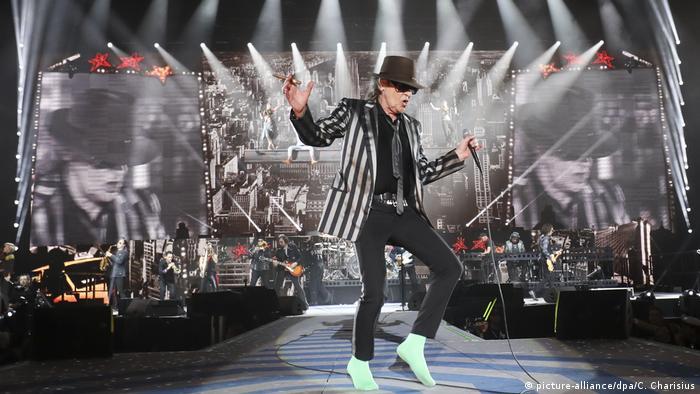 Udo Lindenberg on stage in 2017