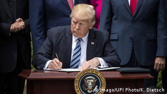 USA Washington Trump Dekrete Religion