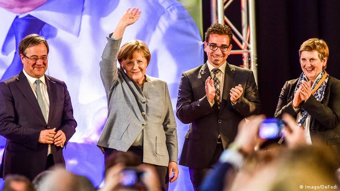 Deutschland Bonn Stadthalle Bad Godesberg Merkel