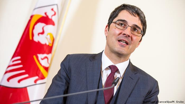 Südtirol Landeshauptmann Arno Kompatscher