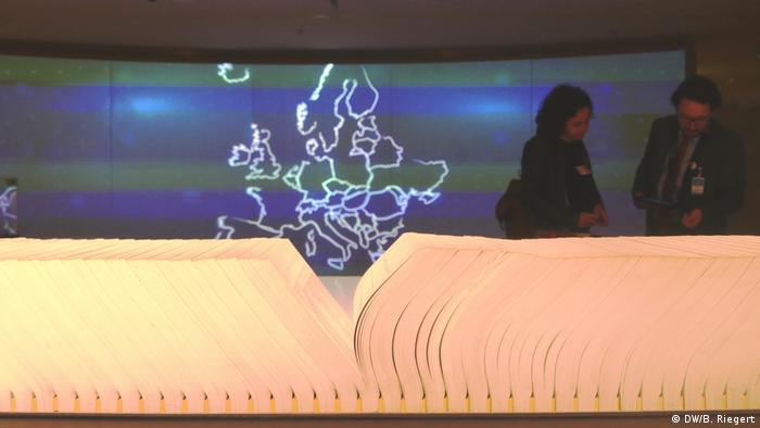 Dom Historii Europejskiej w Brukseli usiłuje opowiedzieć historię Europy przy syntezie różnych narracji narodowych