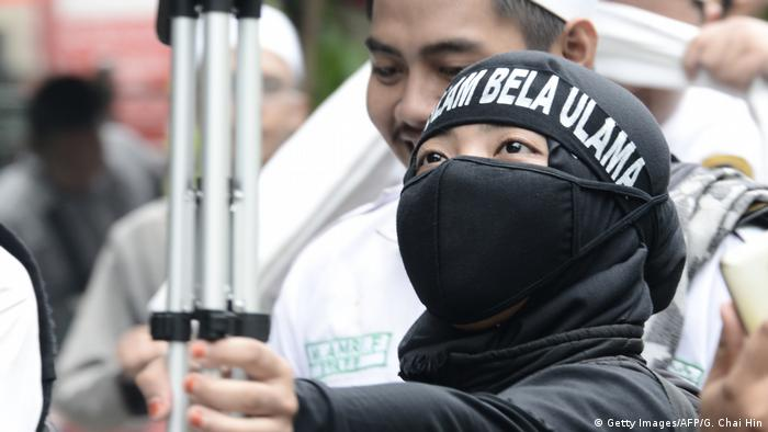 Indonesien Protest gegen Basuki Tjahaja Purnama in Jakarta