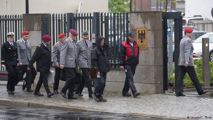 Deutschland Berlin Bundesverteidigungsministerium