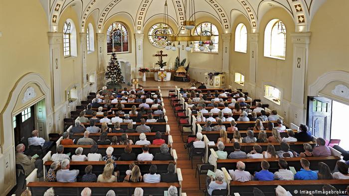 Namibia Swakopmund Weihnachtsmesse Evangelisch lutherische Kirche