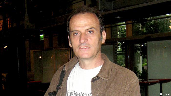 Mazedonien Ljupco Popovski Journalist (Privat)