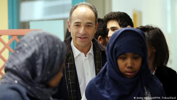 Frankreich Wahl Migranten (Getty Images/AFP/K. Tribouillard)