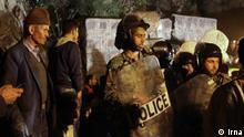 ***Bildergalerie Iranische Polizeisondereinheiten*** Polizei im Kohlebergwerk in Norden des Iran. Der Leiter der iranischen Katastrophenhilfe, Pirhossein Kuliwand, sagte, in dem Bergwerk bei Asad Schahr in der Provinz Golestan habe es eine schwere Gasexplosion gegeben. Möglicherweise seien bis zu 80 Kumpel in dem Schacht eingeschlossen. Mindestens 69 Arbeiter seien verletzt.