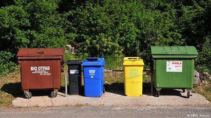 Kroatien | Mülltrennung (DW/D. Romac)