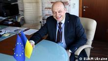 Kestutis Lancinskas, Leiter des EU-Beratungsmission (EU Advisory Mission Ukraine - EUAM) in der Ukraine. (C) - EUAM Ukraine.