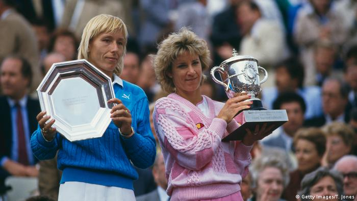 Tennis French Open Finalisten 1986 (Getty Images/T. Jones)