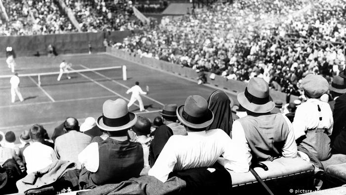 Tennis French Open 1928 (picture-alliance/dpa)