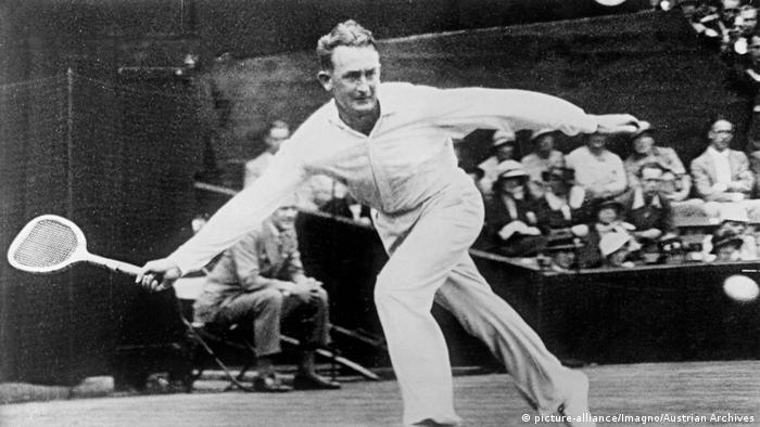 Tennis Wimbledon Championships Jack Crawford (picture-alliance/Imagno/Austrian Archives)