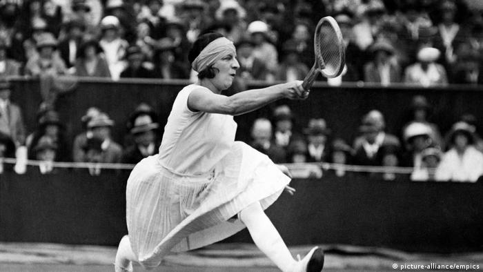 Tennis Wimbledon Championships Suzanne Lenglen (picture-alliance/empics)