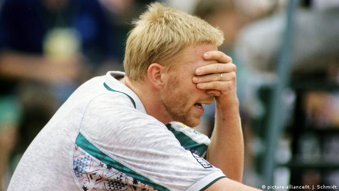 Tennis French Open Boris Becker 1995 (picture-alliance/H. J. Schmidt)