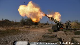 Война на востоке Украины продолжается
