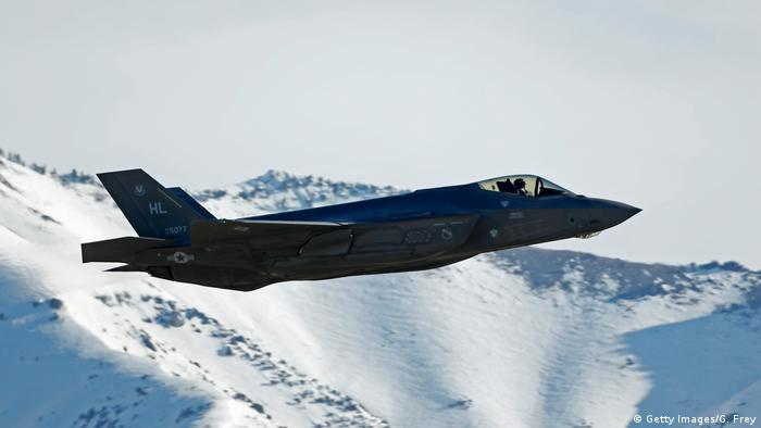 USA | Übungsflug des F-35 Kampfjet (Getty Images/G. Frey)