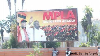 Angola | Wahlplakat der Regierungspartei MPLA