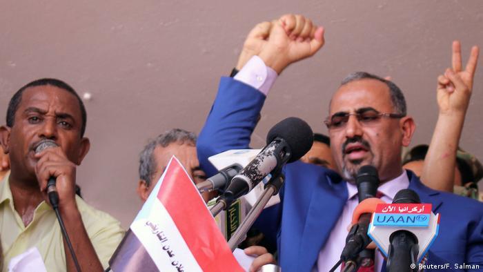 Jemen | Proteste gegen Präsident Hadi (Reuters/F. Salman)